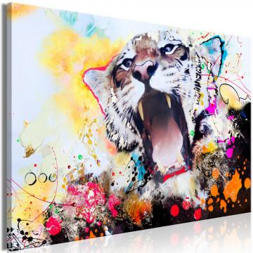 Tablou - Tiger's Roar (1 Part) Wide