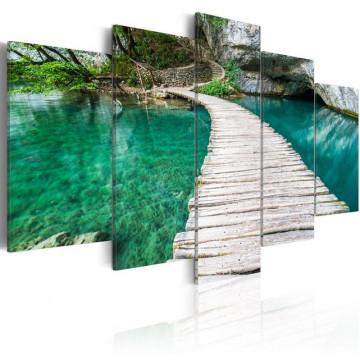 Tablou - Turquoise lake