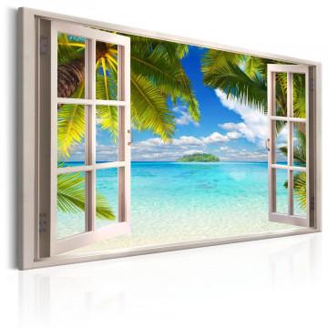 Tablou - Window: Sea View