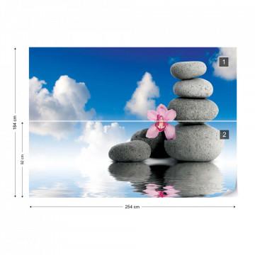 Zen Spa Serenity Photo Wallpaper Wall Mural