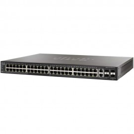 48-Port Gig with 4-Port 10-Gigabit Stackable Managed Switch