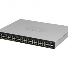 48-Port Gig POE with 4-Port 10-Gig Stackable Managed Switch