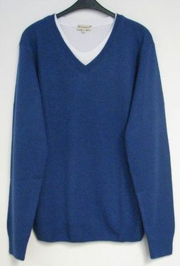 Pulover V-Neck Sweater