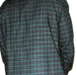 Camasa verde carouri -Compozitie: 100% bumbac