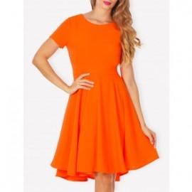 Rochie Orange Vera