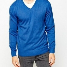 Pulover V-Neck Sweater