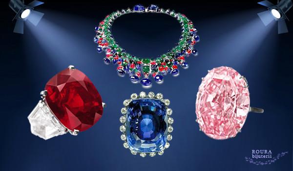 Bijuteriile și pietrele prețioase celebre ale lumii