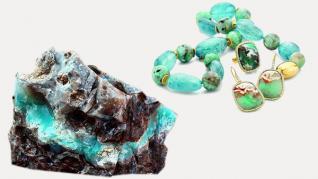 Aquaprase - cea mai nouă piatră semiprețioasă naturală