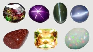 Lumina şi pietrele preţioase