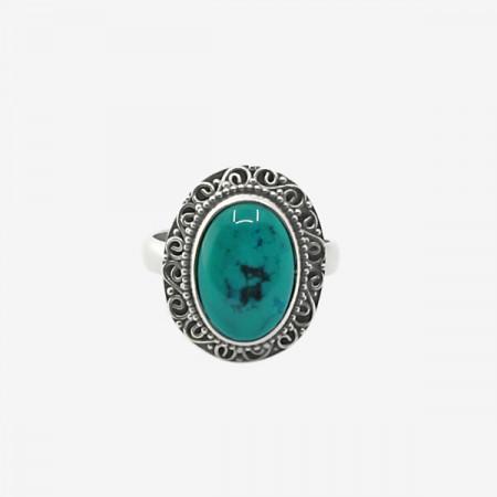 Inel de argint 925 cu turcoaz natural