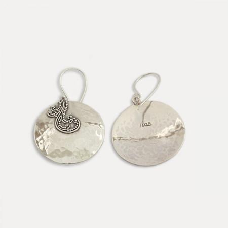 Cercei de argint cu filigran Ima