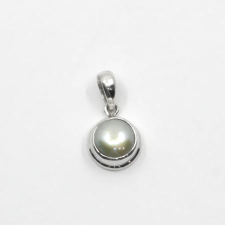 Pandantiv de argint cu perlă Bali