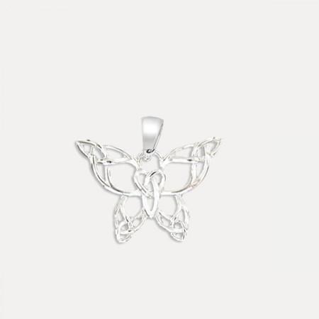 pandantiv argint fluture