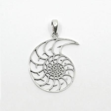 Pandantiv de argint simbol amonit