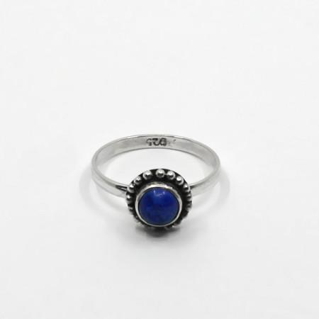 Inel de argint cu lapis lazuli Bali