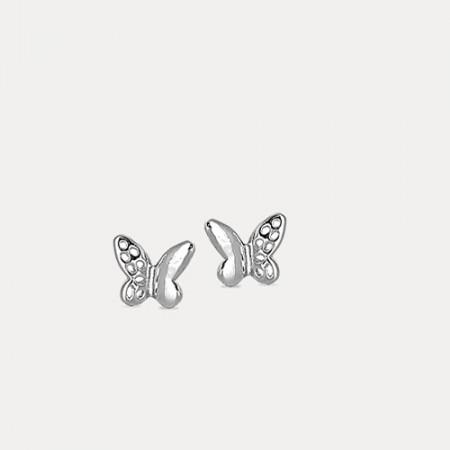Cercei de argint Butterfly