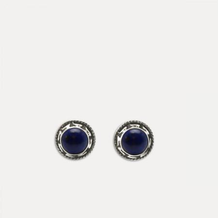 cercei de argint lapis lazuli