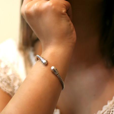 Brățară argint cu perle Bali