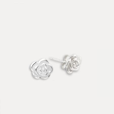 Cercei de argint Rose