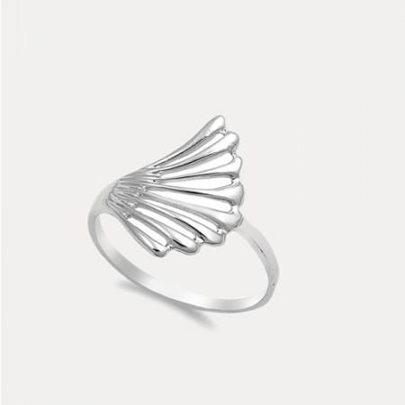 Inel de argint Petal