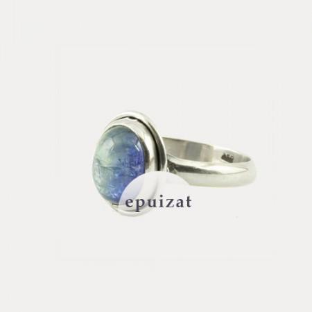Inel de argint cu tanzanit Arusha