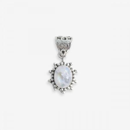 Pandantiv de argint cu piatra lunii