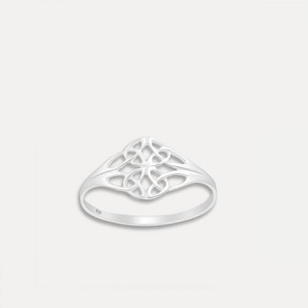 inel de argint simbol celtic