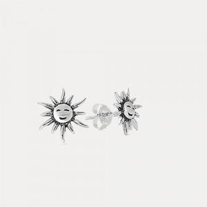Cercei de argint Sun