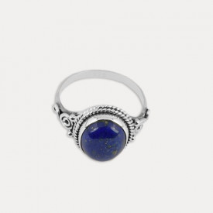 Inel de argint cu lapis lazuli Neela