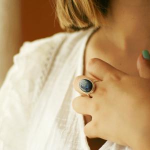 Inel cu lapis lazuli