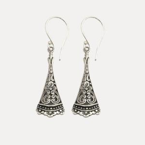 Cercei de argint Anggun