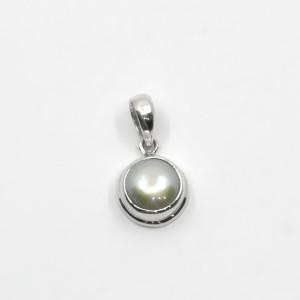 Pandantiv de argint cu perlă Lopa