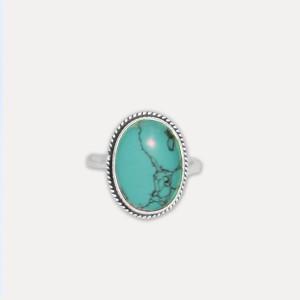 Inel de argint cu turcoaz Prerania