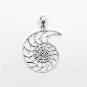 Pandantiv de argint simbol Uni