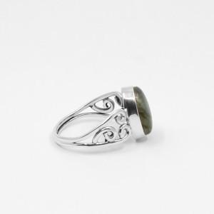 inel de argint cu labradorit India