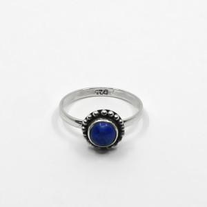 Inel de argint cu lapis lazuli Itino
