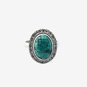 Inel de argint cu turcoaz Kimin (#3)
