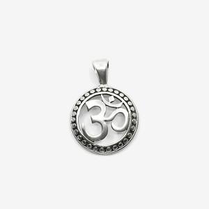 Pandantiv de argint simbol Om