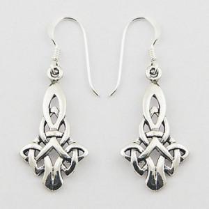 Cercei de argint Celtic Kite