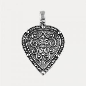 Pandantiv de argint patinat Gothic Princess