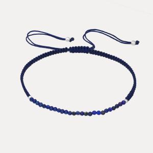 Brățară ajustabilă cu lapis lazuli