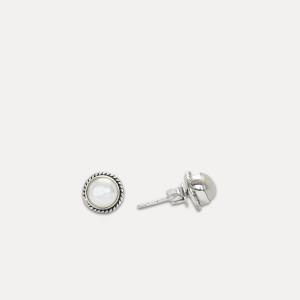 Cercei de argint cu perla Saria