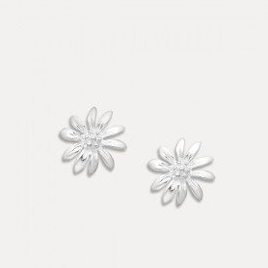 Cercei de argint Hanabira