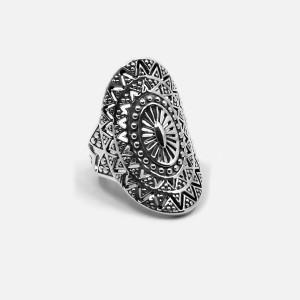 inel de argint mandala soarelui
