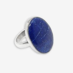 Inel de argint cu lapis lazuli Endo Small