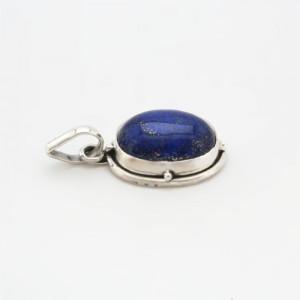pandantiv argint si lapis lazuli