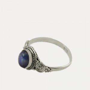 Inel de argint cu lapis lazuli Garmi