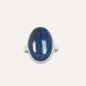 Inel de argint cu lapis lazuli Visasva