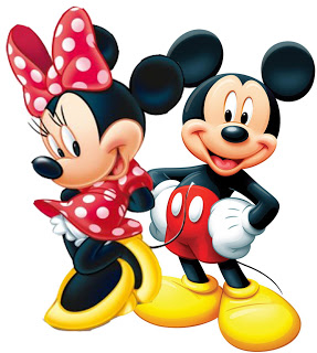 Mickey si Minnie Mouse