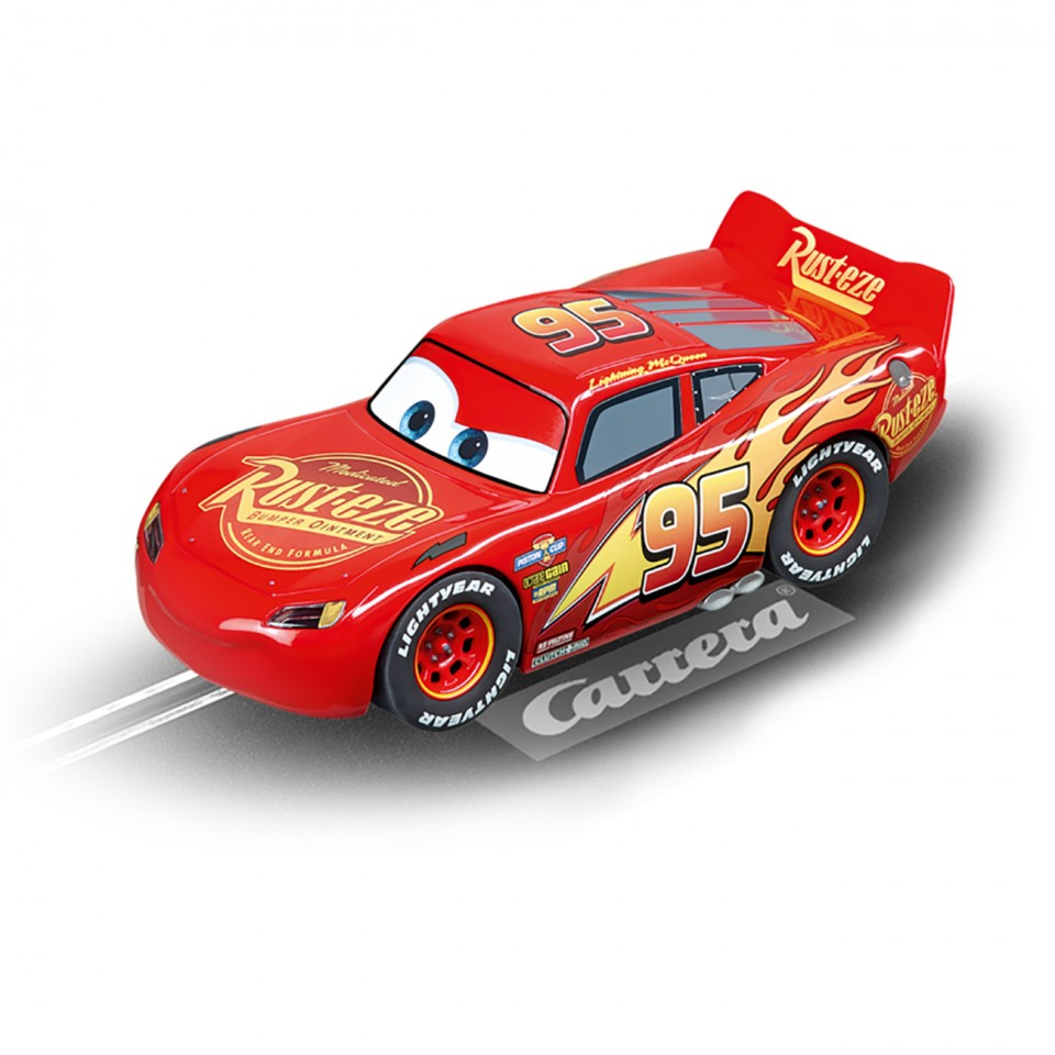 masinuta lightning mcqueen carrera go cars 3. Black Bedroom Furniture Sets. Home Design Ideas
